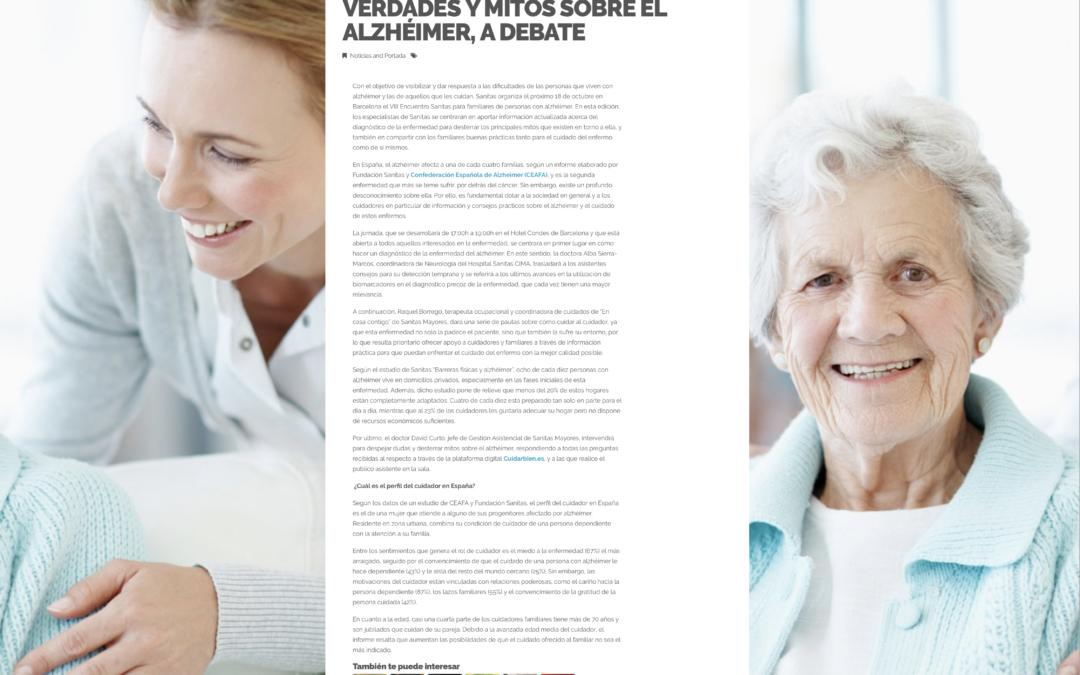 Verdades y Mitos sobre el alzhéimer